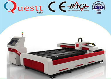 Industrial Laser Cutting Machine 2000W For SS Iron , High Power 3 Axis Laser Cutter