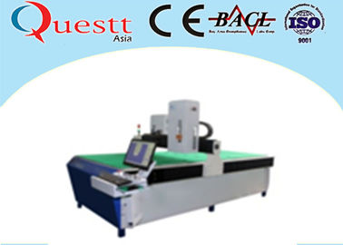 Large Size 3D Laser Crystal Engraving Machine 3 Watt With Green Laser Imaging